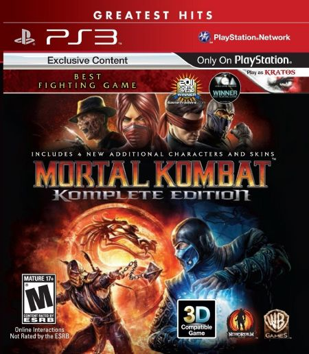 تحميل Mortal Kombat Komplete Edition ps3